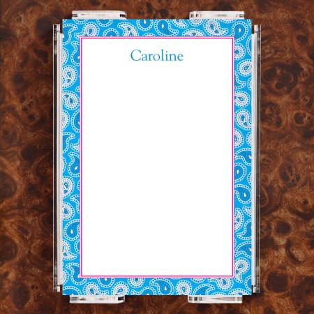 Paisley 2 Note Sheet Set