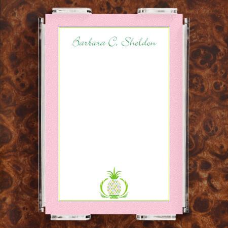 Pineapple Note Sheet Set