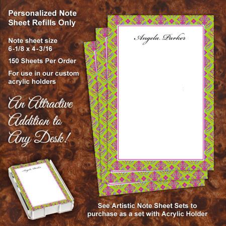 Duval Street Note Sheet Refill