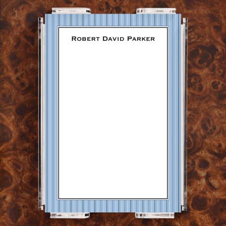 Stripes Blue Note Sheet Set