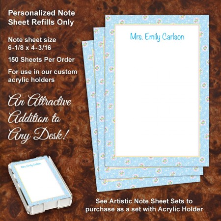 Pinwheel Note Sheet Refill