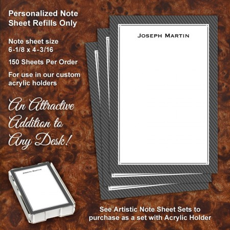 Classic 2 Note Sheet Refill