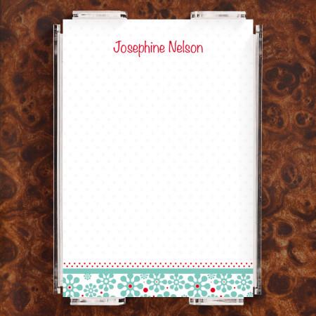 Groovy Flowers Note Sheet Set