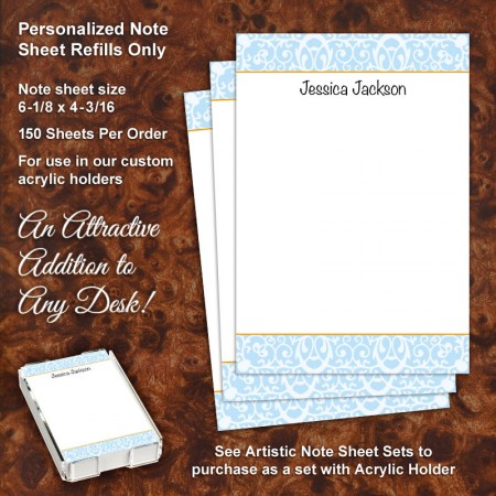 Madison Note Sheet Refill