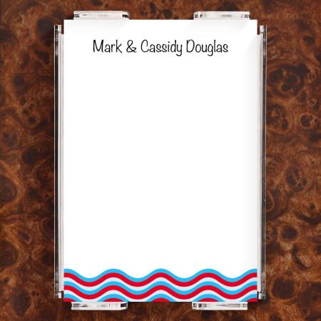 Wavey Stripes Note Sheet Set