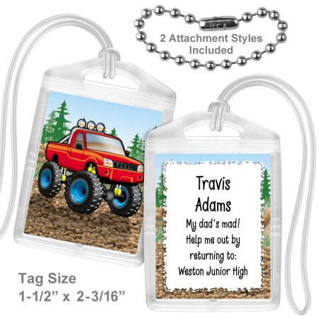 4x4 Truck Mini Tag