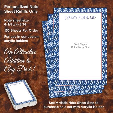 Sheik Note Sheet Refill