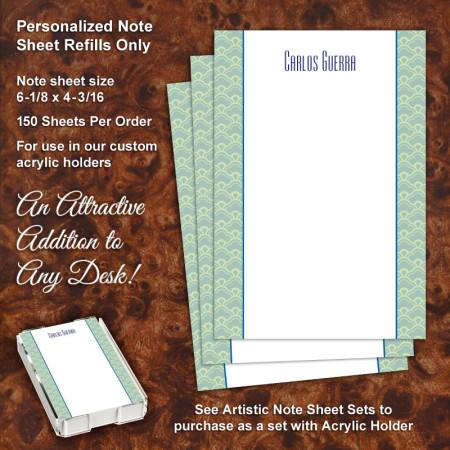 Broadway Note Sheet Refill