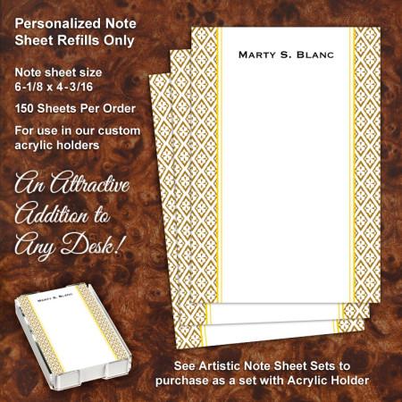 Lexi Note Sheet Refill