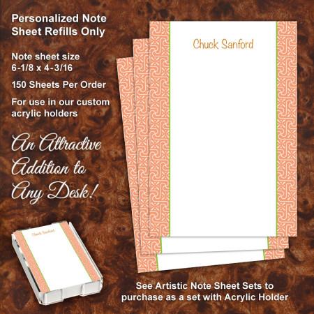 Fairy Dust Note Sheet Refill