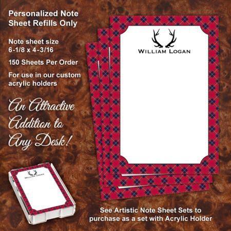Gentleman Note Sheet Refill