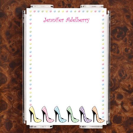 High Heels Note Sheet Set