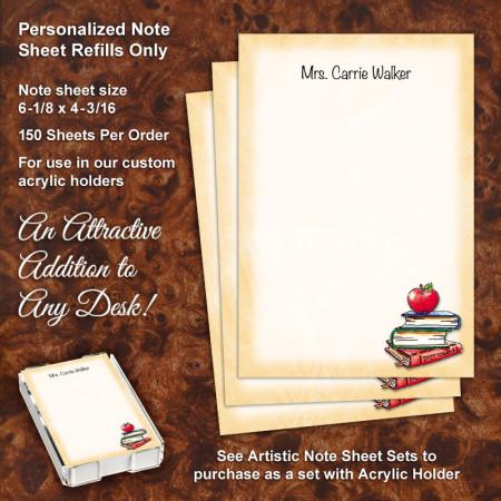 Apple Books Note Sheet Refill