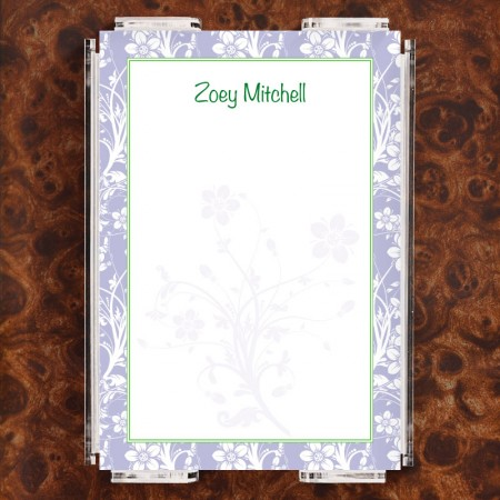 Floral 1 Note Sheet Set