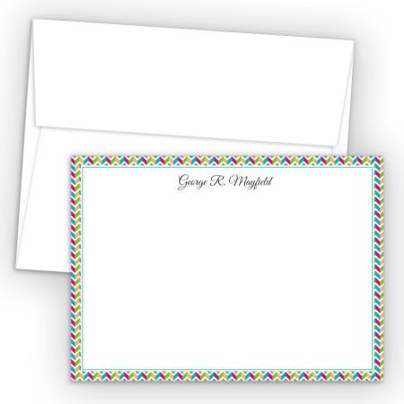 Chevron 2 Correspondence Cards