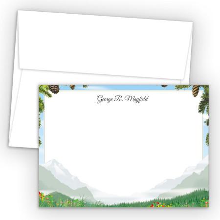 Mountain Correspondence Cards
