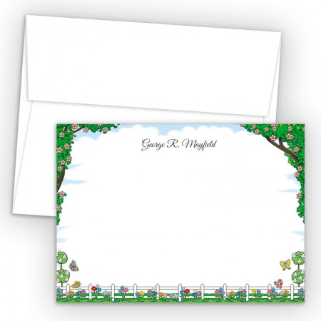 Picket Fence Correspondence Cards
