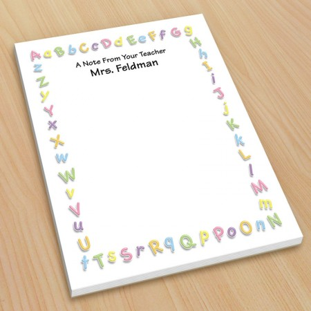ABC Teacher Small Note Pads