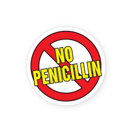 No Penicillin Labels for Allergies