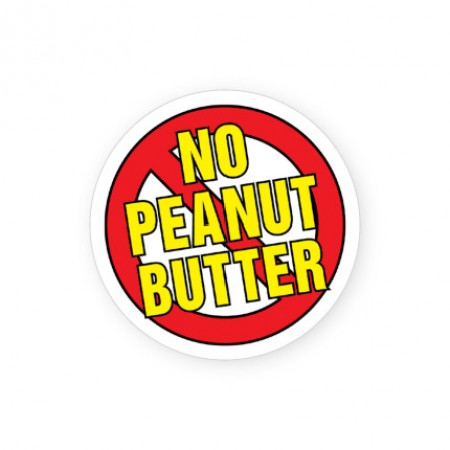 No Peanut Butter Labels for Allergies