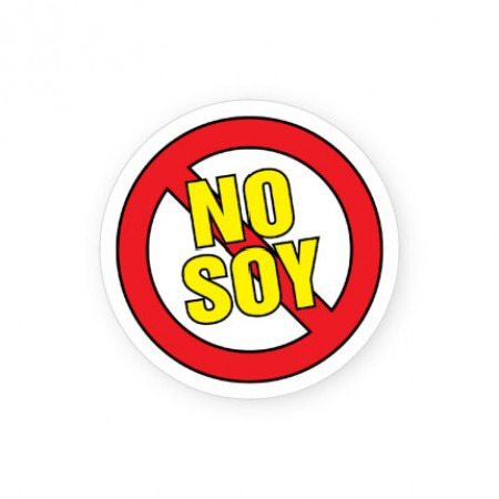 No Soy Labels for Allergies