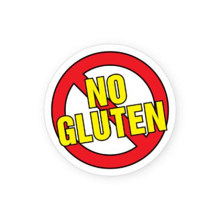 No Gluten Allergy Alert Labels