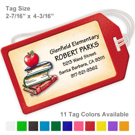 Apple Luggage Tag