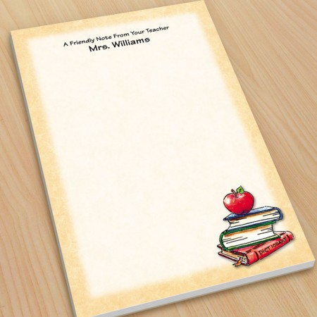 Apple Teacher Large Note Pads