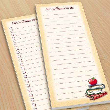 Apple Teacher To-Do Pads