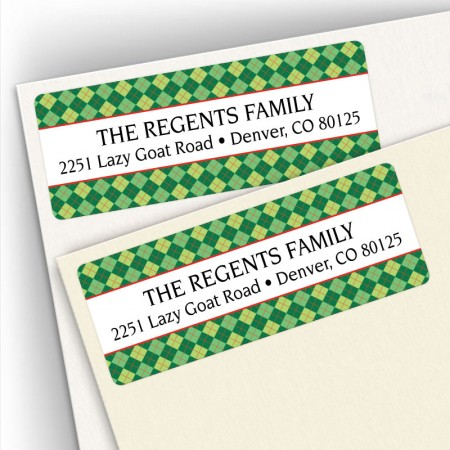 Argyle 5 Address Labels