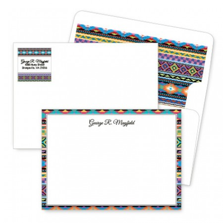 Aztec Artistic Correspondence Card Ensembles