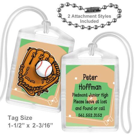 Baseball Mini Tag