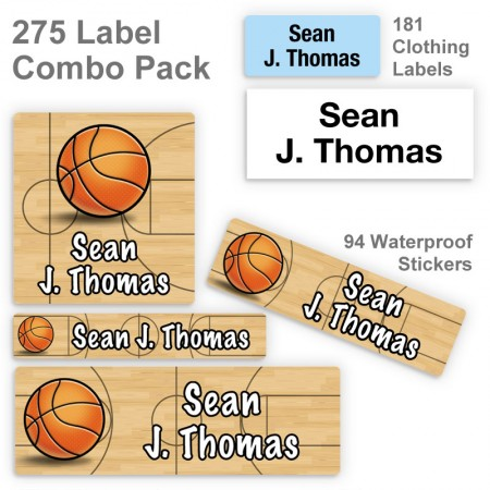 Basketball Label Combo Pack