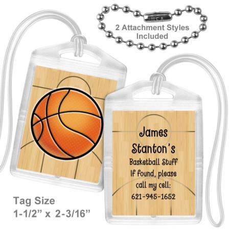 Basketball Mini Tag