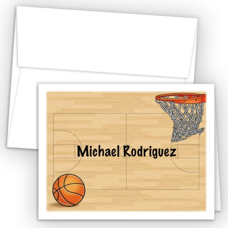 Basketball Note Card