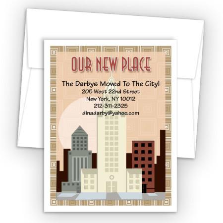 Big City Moving Card