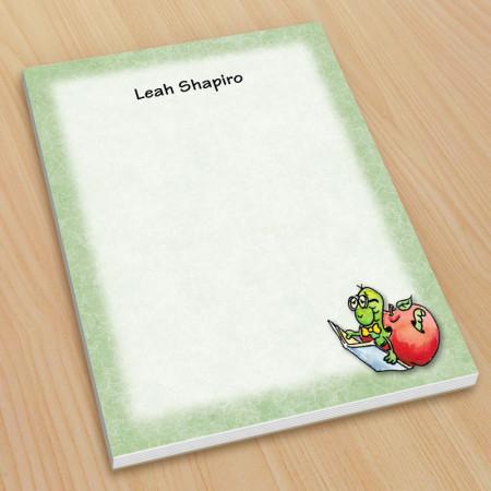 Bookworm Teacher Small Note Pads