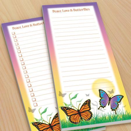Butterflies Sun To-Do Pads