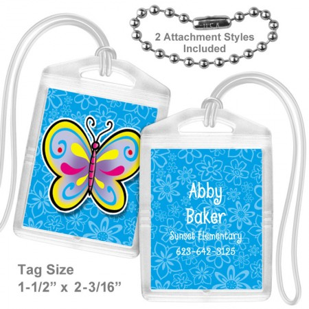 Butterfly 5 Mini Tag