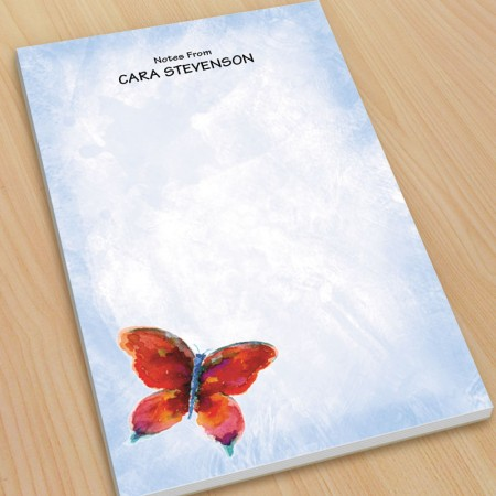 Butterfly Large Note Pads