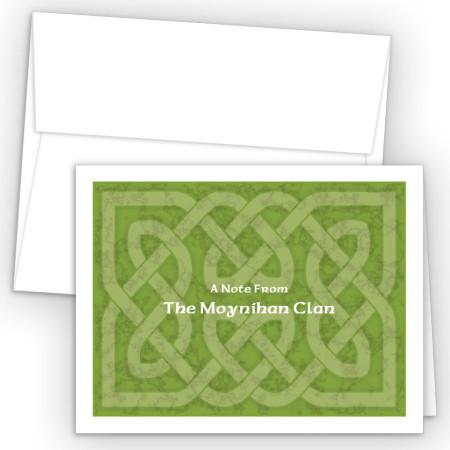 Celtic Design Note Card