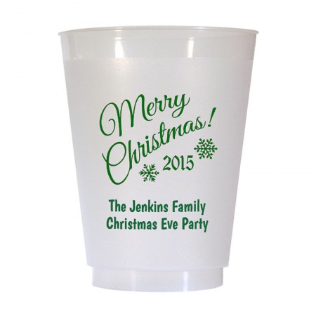 Christmas Cup Design 16 16 oz Personalized Christmas Party Cups