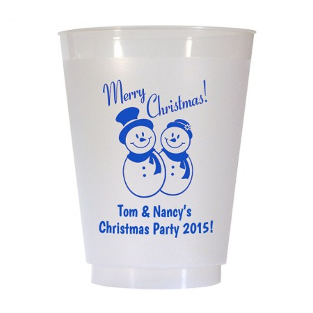 Christmas Cup Design 18 16 oz Personalized Christmas Party Cups