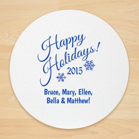 Christmas Design 15 Personalized Christmas Coasters