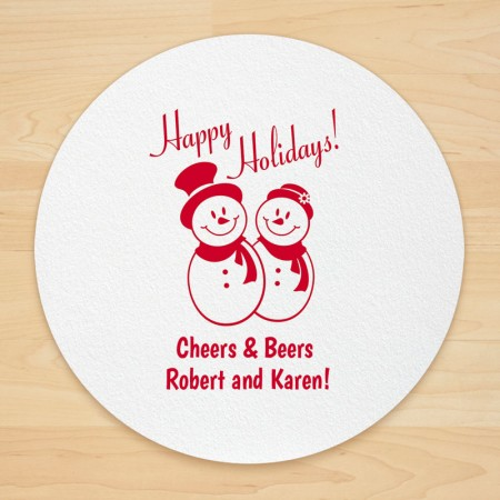 Christmas Design 17 Personalized Christmas Coasters