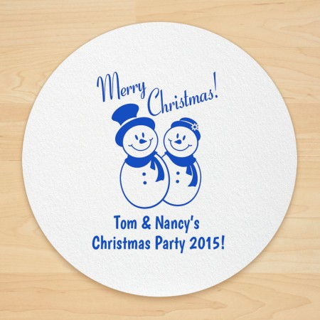 Christmas Design 18 Personalized Christmas Coasters