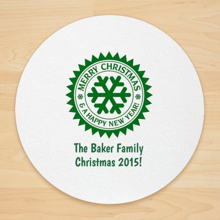 Christmas Design 19 Personalized Christmas Coasters