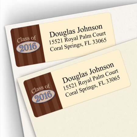 Class of 2016 Address Labels Design 2