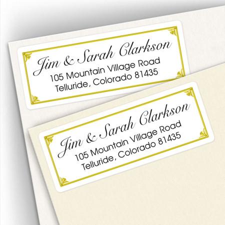 Classic Address Labels Design 17