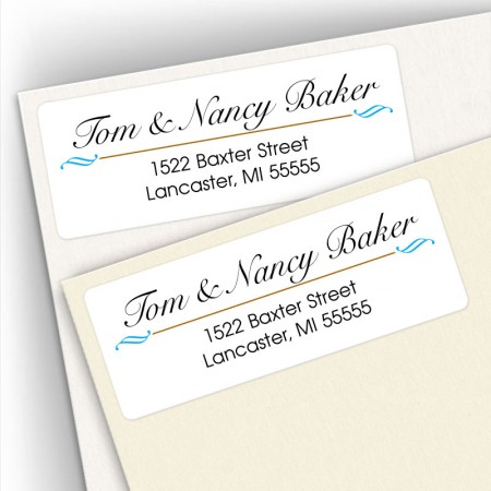 Classic Design 1 Address Labels